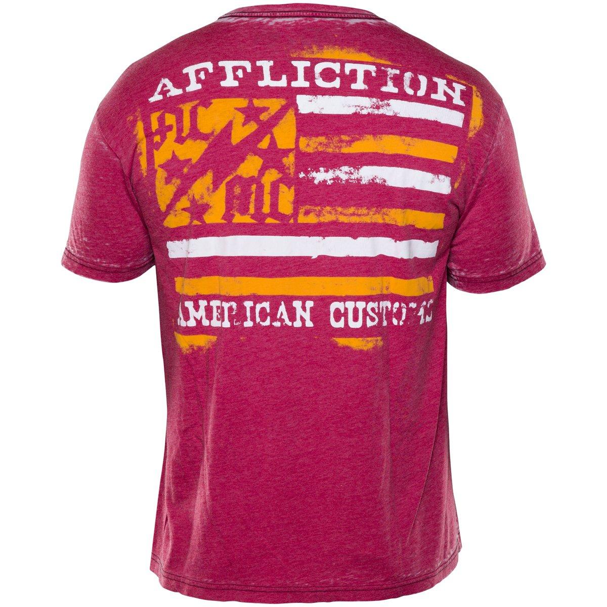Affliction Mens Ac Flag T-Shirt