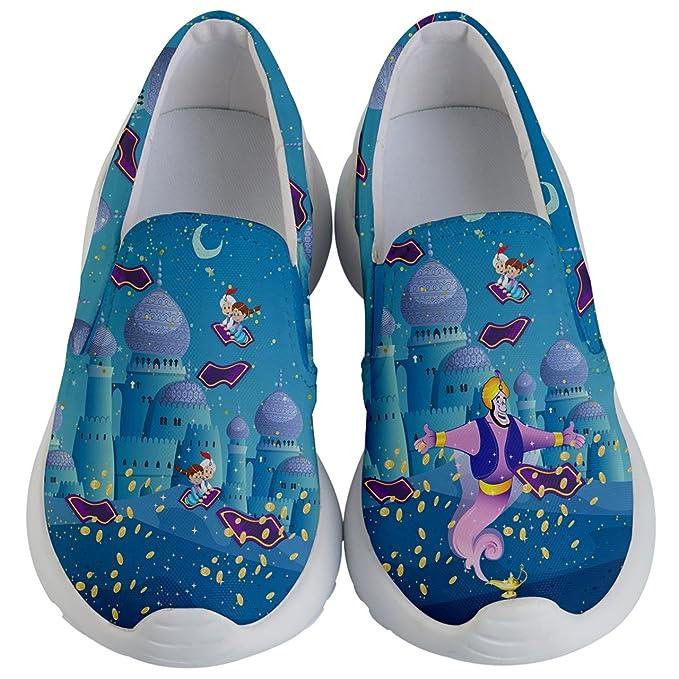 b9f20c62 PattyCandy Unisex Shoes Genie Fairytale Kids Lightweight Slip Ons - US 1Y
