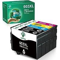 GREENSKY 603XL Remanufacturado para Epson 603 603 XL Tinta para Epson Expression Home XP-2100 XP-2105 XP-3105 XP-3100 XP…