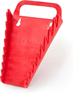 product image for TEKTON 9-Tool Wrench Holder (Red) | 79365, 9 Slots