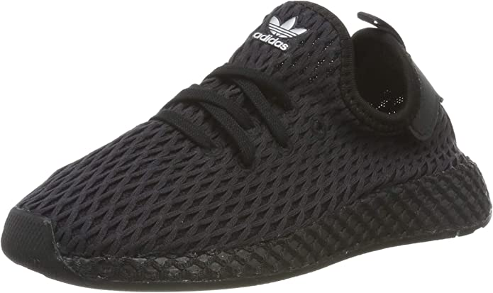 adidas Deerupt Runner Sneakers Fitnessschuhe Unisex Baby Schwarz