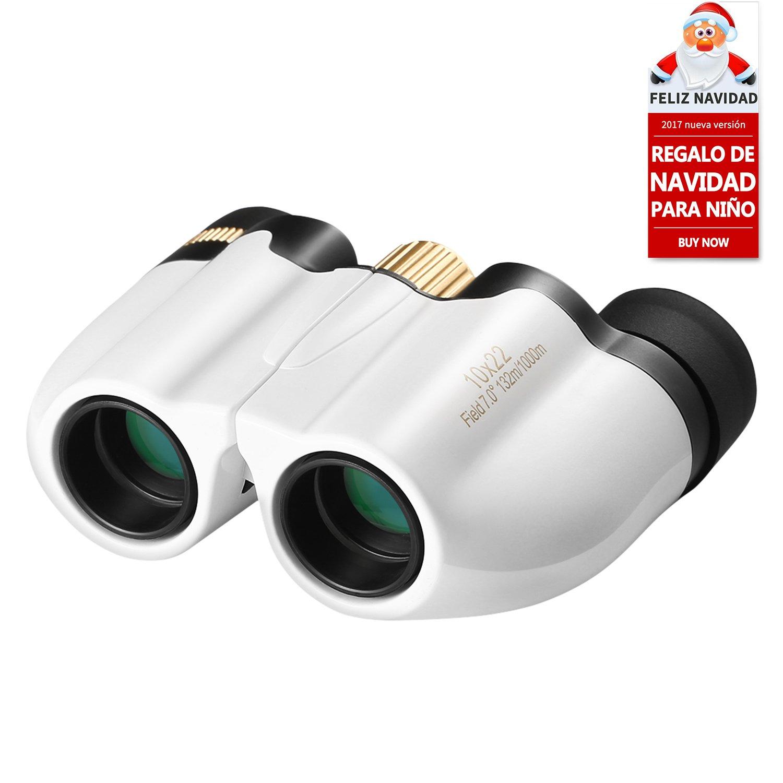LESHP Prismáticos x Mini Binoculars Portátiles Compactos Ligeros Para Niños con Vidrio
