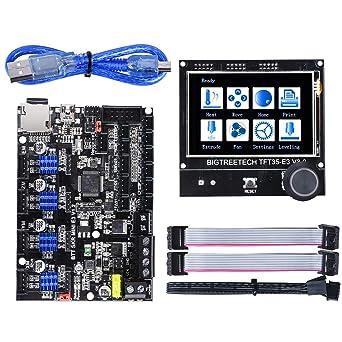 BIGTREETECH SKR Mini E3 V1.2 - Placa de control de 32 bits con ...
