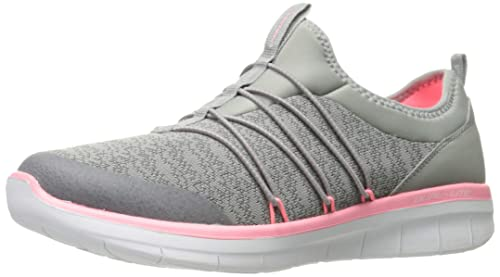 Skechers Damen Synergy 2.0 Simply Chic Slip On Sneaker, Grau