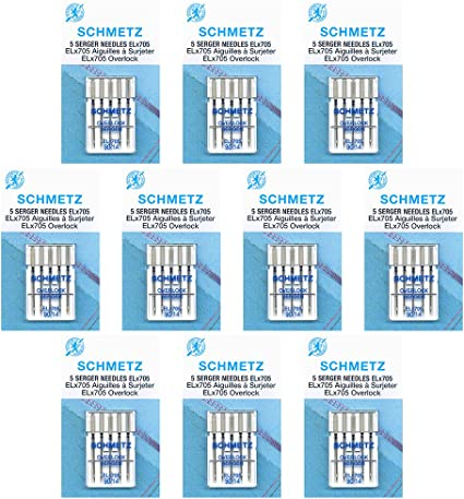 /size 90//14/ 50 Schmetz/Embroidery Sewing Machine Needles Box of 10 cards