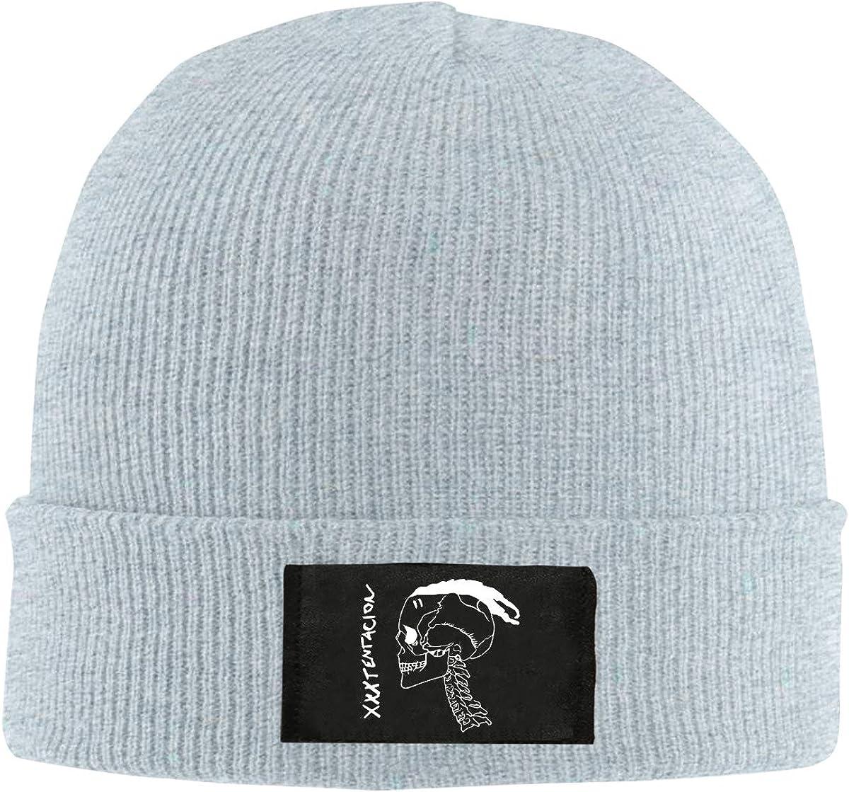 Xxxtentacion Remembering Knit Hat Soft Comfortable Warm Winter Beanie Print Cap for Men and Women 4 Colors