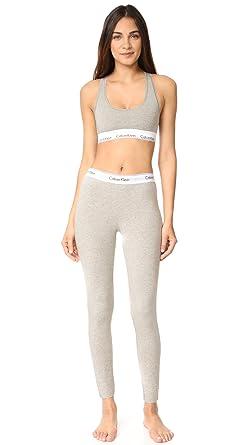 2dfdc747f396c Calvin Klein Underwear Women s Modern Cotton Bralette   Leggings Set ...