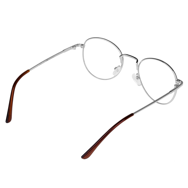 b87fe2a8ca2bde forepin reg  Lunette de Vue Femme Homme Unisex Vintage Retro Monture  Metalique Mode Fashion Eyeglasses