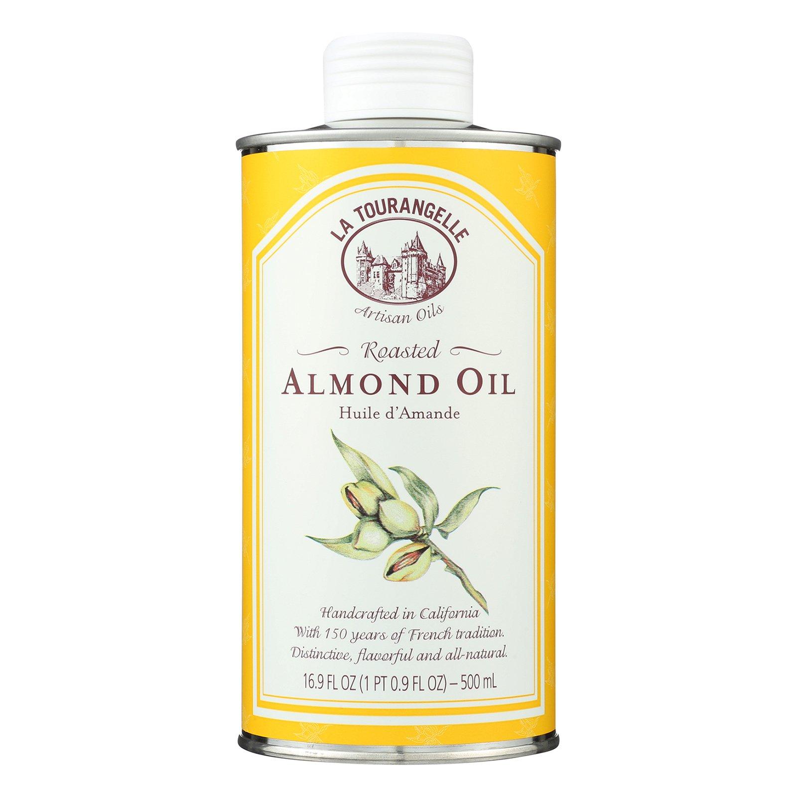 La Tourangelle Roasted Almond Oil - Case of 6 - 500 ml by La Tourangelle