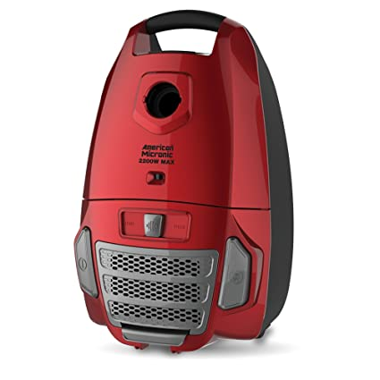 American Micronic- AMI-VCC-2200WDx-2200 Watts Imported Vacuum Cleaner (Red)