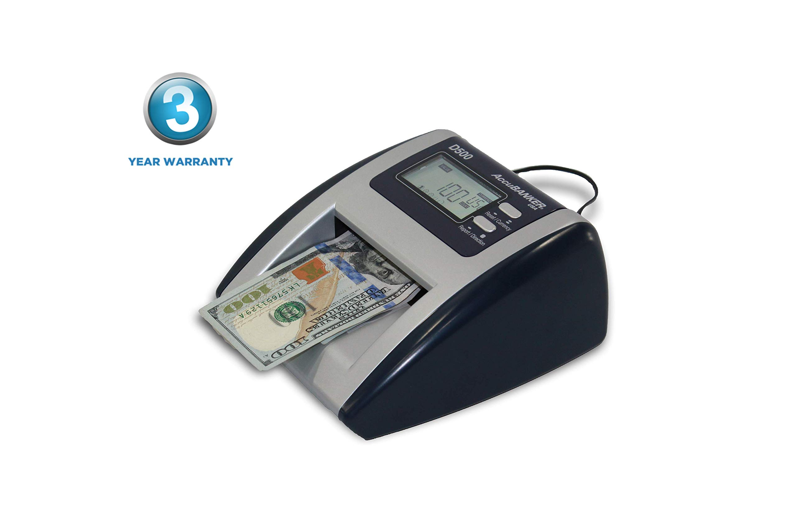 AccuBANKER D500 Automatic Counterfeit Detector by AccuBANKER