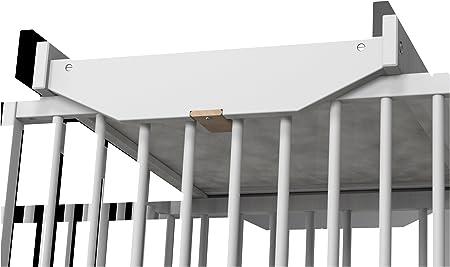 Ateliers T 4 Ibérica 33098800 - Cambiador adaptable a cuna de 60 x 120 cm