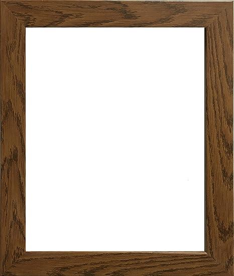 A1 A2 A3 A4 A5 A6 Picture Photo Frames Black & Oak Wooden Effect (A3 ...