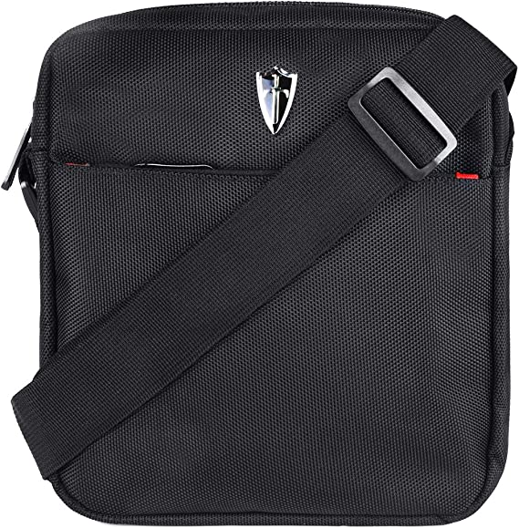 Amazon.com | Victoriatourist Vertical Messenger Bag for iPad-Mini and Tablets Upto 8.1-Inch (Black) | Messenger Bags