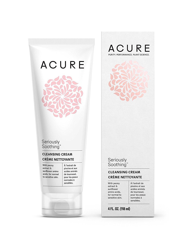 Acure Organics Natural delicado rostro lavado limpiador con ...