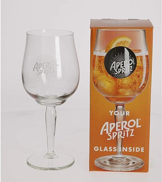 Aperol Spritz - Copas de cóctel (51 cl) con caja de regalo: Amazon ...