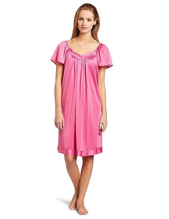 Exquisite Form Women\'s Coloratura Sleepwear Short Flutter Sleeve ...