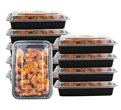 Amazon Com 1 Compartment 24 Oz Portion Control Lunch Box And Food