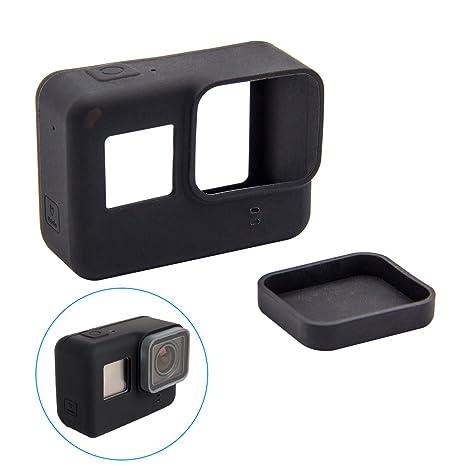 woclhj Carcasa para GoPro Hero 6 Soft de de Silicona ...