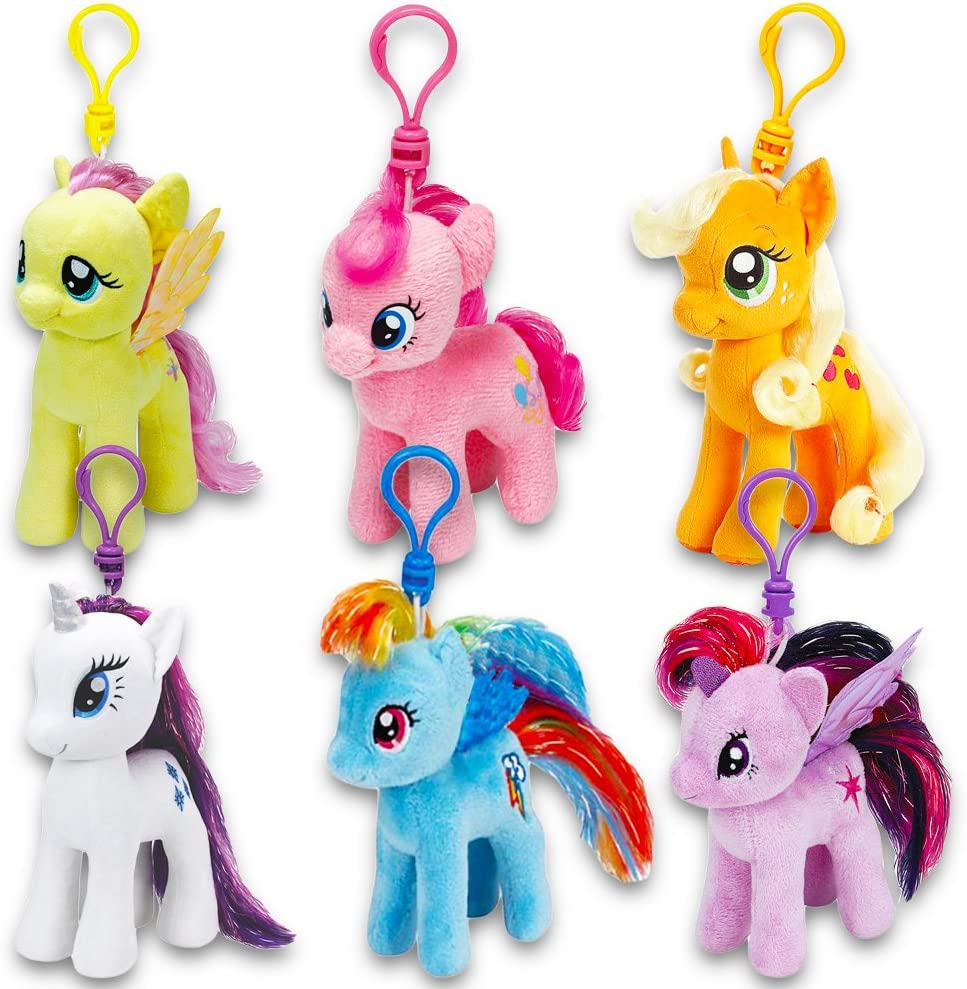 """Official My Little Pony 7/"""" Plush Soft Toys Various Characters Available"""