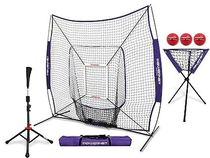 Equipo de entrenamiento Powernet DLX Pro (red de béisbol y sófbol, zona de strike