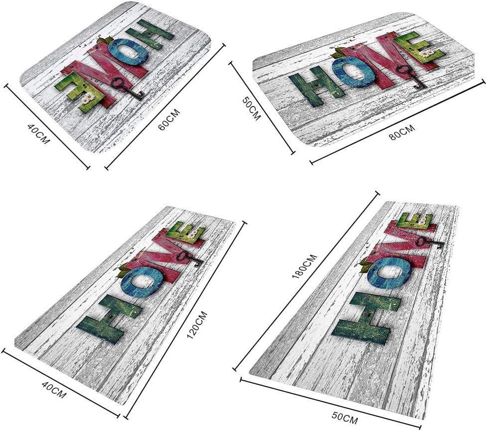 Qianren Bereich Teppich Teppichbodenmatte f/ür den Heimbereich Bodenmatte f/ür Wohnzimmer Badezimmer Dekoration Teppich Anti-Rutsch