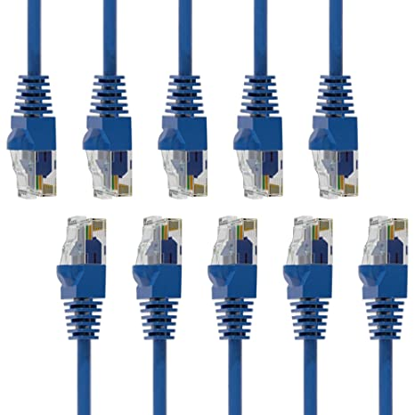 ISO Certified Mfg CAT6 Patch Cable booted 7 FT