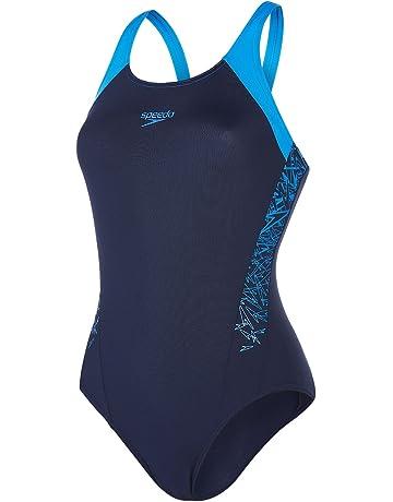 Wettkampf-Badeanzüge - Damen  Sport   Freizeit   Amazon.de 9ef6b6425a