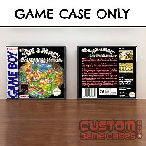 Amazon.com: Gameboy Joe and Mac: Caveman Ninja - Game Case ...