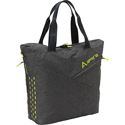 Amazon.com  Apera Studio Fitness Tote, Graphite  Sports   Outdoors d9ab9c72f4