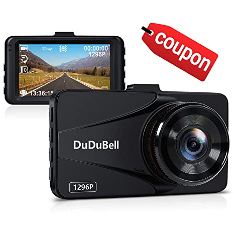 Amazon Com Dash Cam Dudubell 2k Car Camera Recorder 170 Wide