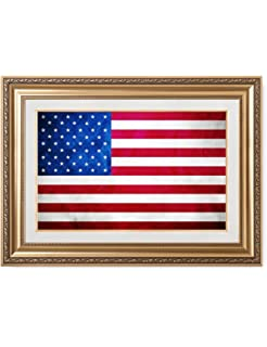 1fb1db06f7b0 DECORARTS - American Flag. Giclee Print  Museum Quality Framed Art for Wall  Decor. Total