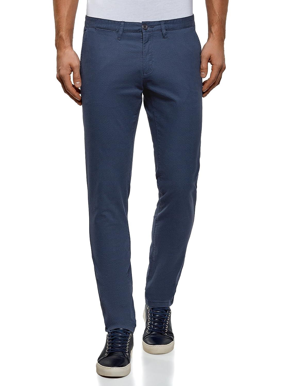 oodji Ultra Uomo Pantaloni Chino in Cotone RIFICZECH s.r.o. 2L150139M