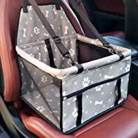 Upworld Pet Dog Car Booster Seat Carrier Puppy Cat Travel Safety With