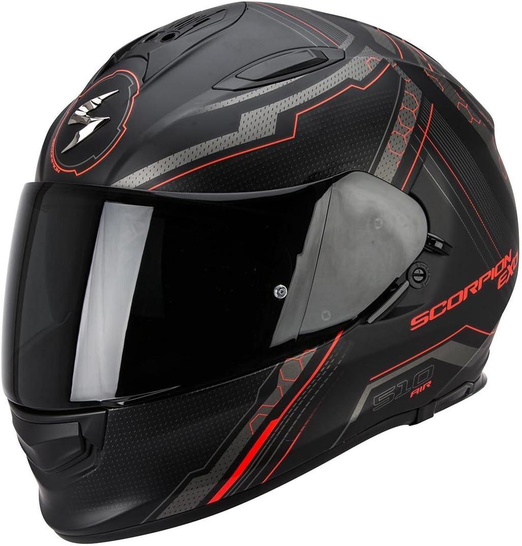 Matt Schwarz//Blau Scorpion Helm XXL