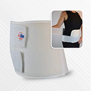 Med-Atlantic Double-Pull Breathable Abdominal Binder for Abdominal Hernia, Back Pain & Postpartum, Reduce Pain & Discomfort, BEH-3M (X-Large)