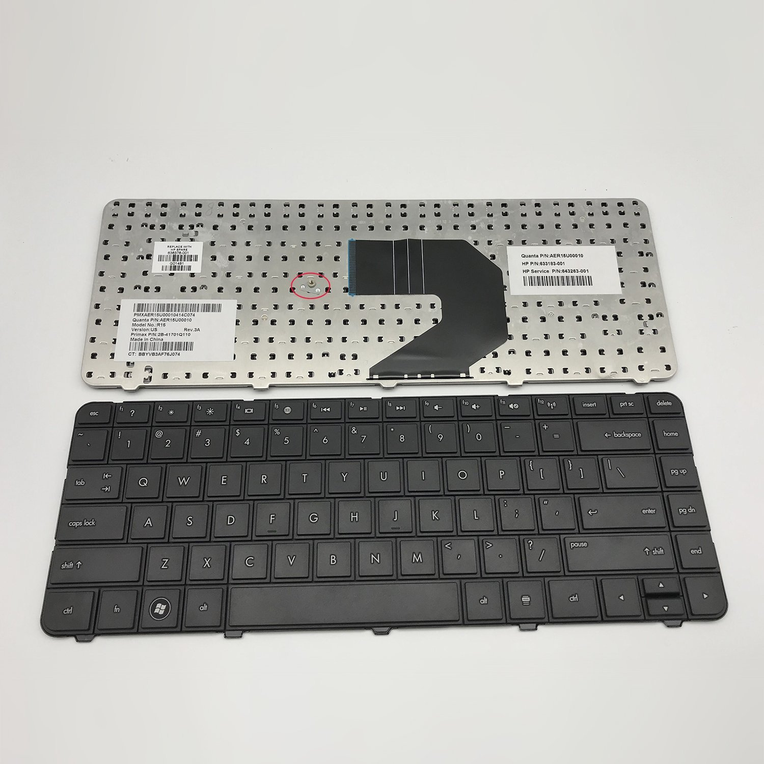 Sierra Blackmon New and original Laptop Replacement Keyboard For HP Pavilion G4-1000 Series for HP Compaq Presario CQ57 Series HP 2000 Series HP G6 G6S G6T G6X Series