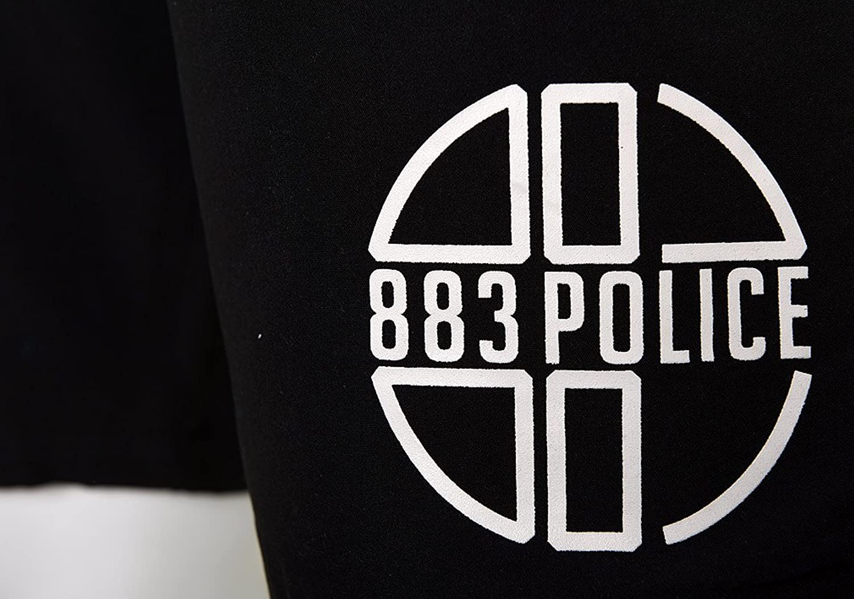 Mens 883 Police Shorts | Foster | Swim shorts | Blue, Black