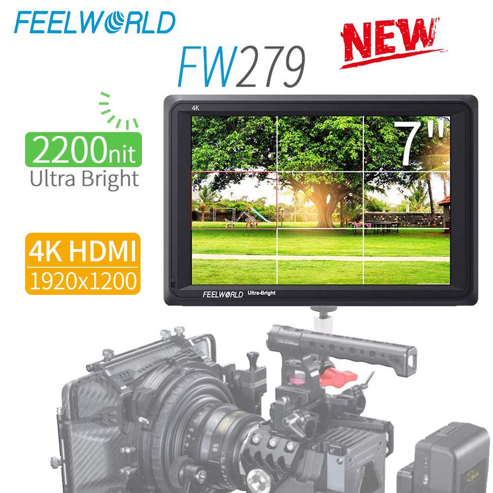 Monitor Camara FEELWORLD FW279 7inch 1920x1200 4K HDMI