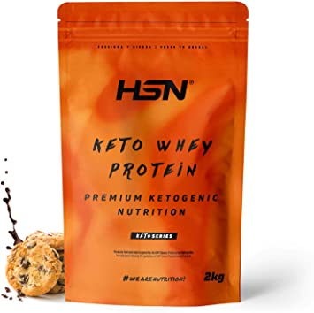 Keto Whey Protein | Aislado de Suero CFM + Aceite MCT de Coco + Enzimas Digestivas Digezyme | Grass-Fed | Apto Vegetariano, Sin Gluten, Sabor ...