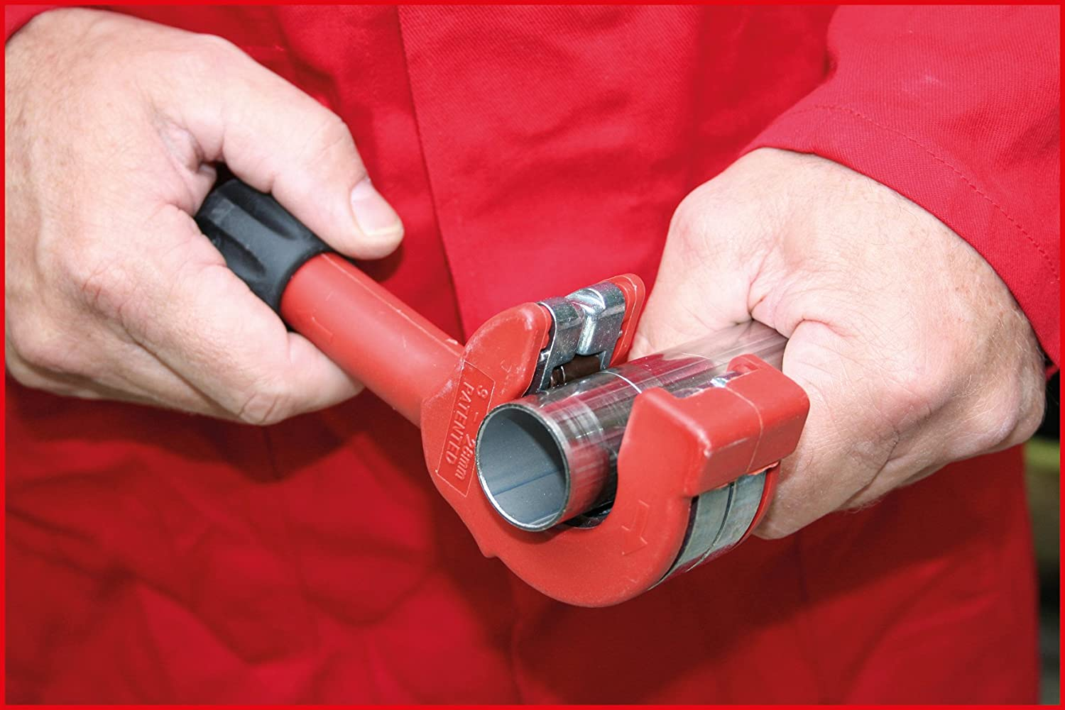 SK Hand Tool Ratchet pipe cutter 10-35mm KS TOOLS 4042146224946