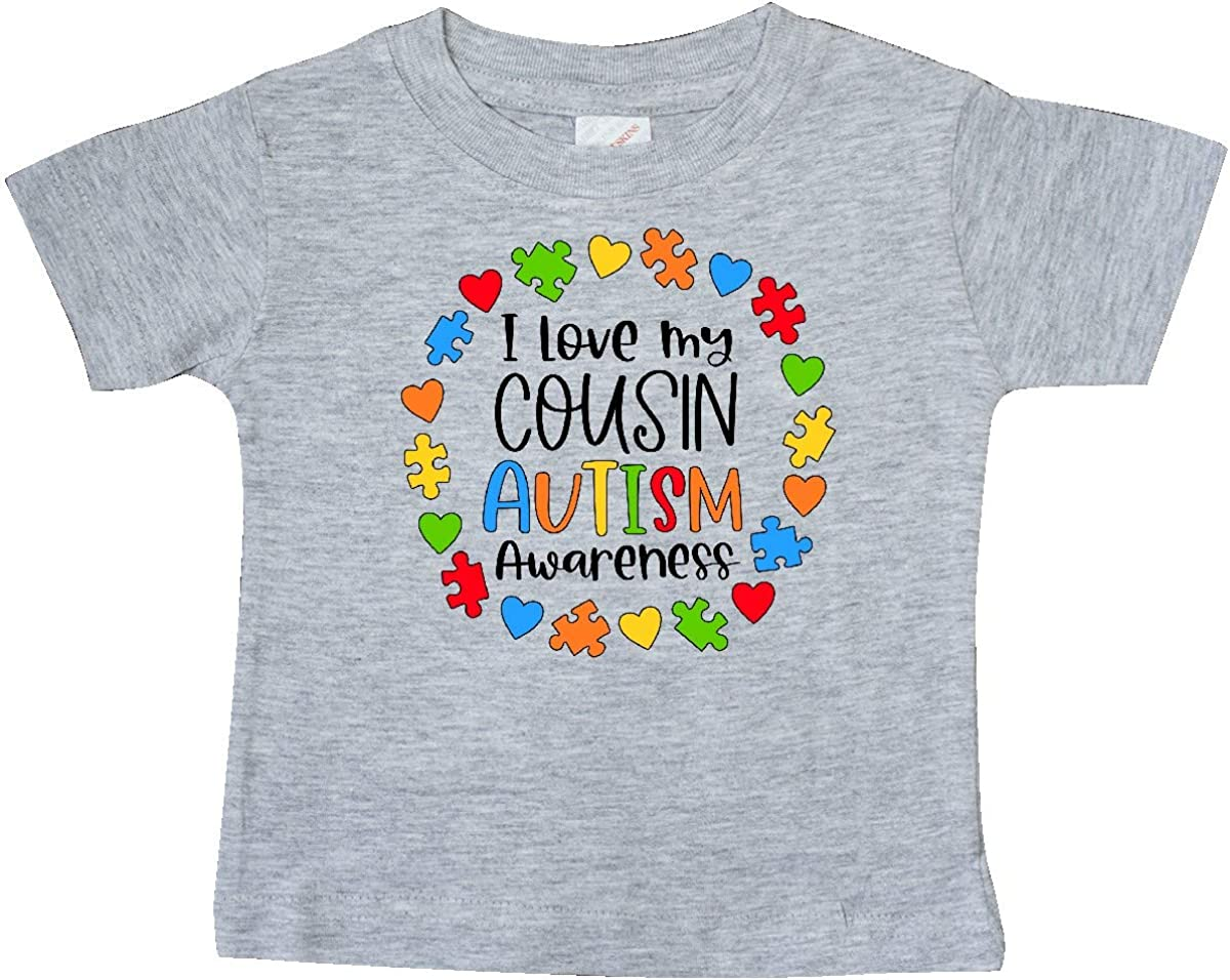 Autism Awareness Family I Wear A Puzzle For My Cousin T-Shirt