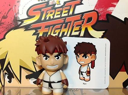 "kidrobot STREET FIGHTER V Mini Series  3/"" Vinyl Figure New Ryu"
