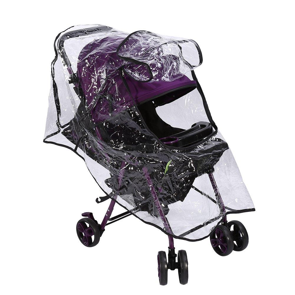 1pcs Great-hyc PVC Universal Waterproof Baby Stroller Rain Cover ...
