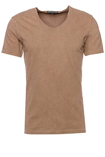 6a61f1d8ce64de Drykorn T-Shirt Ravy für Herren Braun XXL: Amazon.de: Bekleidung