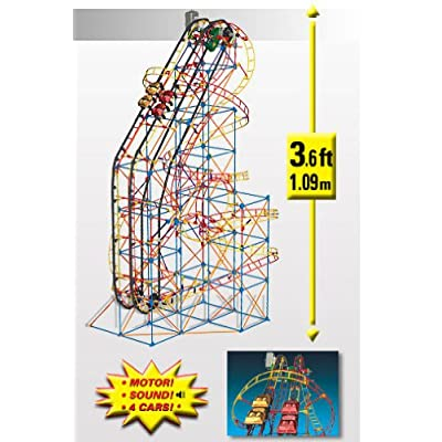 Knex Hornet Swarm Dueling Coaster: Toys & Games [5Bkhe1004807]