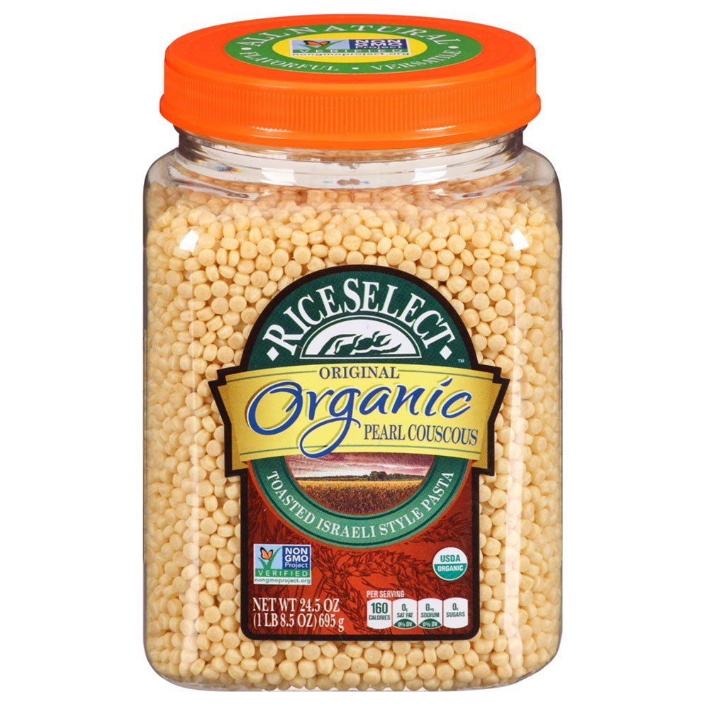 RiceSelect Organic Pearl Couscous, 24.5 Ounce