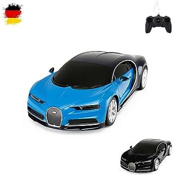 detailed look 34db8 afff3 Original Bugatti Chiron, Lizenz-Auto, RC Ferngesteuertes Fahrzeug,  lizenziert, Modell-Maßstab 1:24, Ready-to-Drive, Auto inkl. Fernsteuerung,  Neu