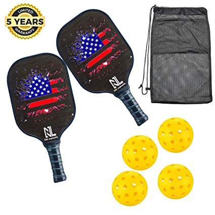 Amazon.com: A&L Pickleball Paddle | Pickleball Paddle Set ...
