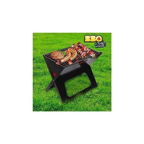 Barbecue Portatile Pieghevole.Barbecue Portatile Pieghevole Bbq Quick Barbeque Acciaio Pic Nic Mare Carbonella